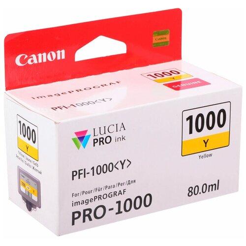 Фото - Картридж Canon PFI-1000Y (0549C001) картридж canon pfi 1000pgy 0553c001