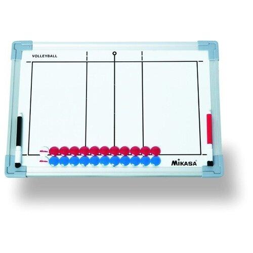 Тактическая доска для волейбола MIKASA SB-V, 45х30см, маркеры и фишки