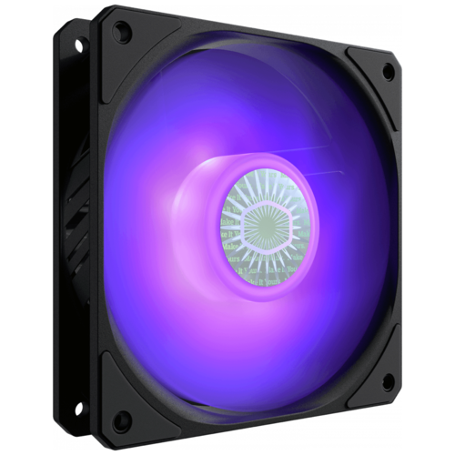Вентилятор для корпуса Cooler Master SickleFlow 120 черный/RGB 1 шт.