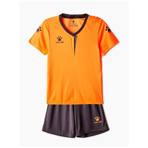 Спортивный костюм Kelme размер 130, оранжевый
