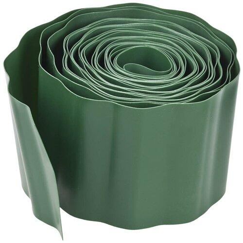 Бордюрная лента GRINDA 422245/422247, зелeный, 9 х 0.15 м