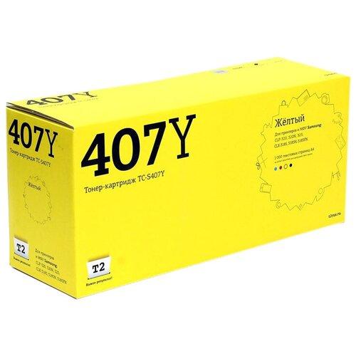 Фото - Картридж T2 TC-S407Y, совместимый картридж t2 tc h87a совместимый