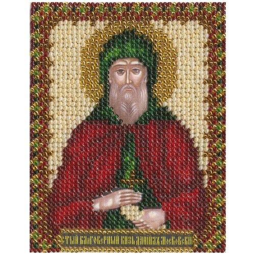 Купить Набор для вышивания PANNA CM-1213 ( ЦМ-1213 ) Икона Св.Благоверного Даниила Московского , Наборы для вышивания