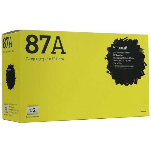 Фото - Картридж T2 TC-H87A, совместимый картридж t2 tc h87a совместимый