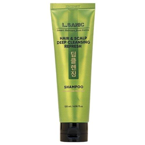 Купить L'Sanic Шампунь для глубокого очищения волос и кожи головы, 120 мл