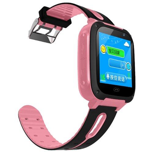 Детские умные часы Smart Baby Watch S4, розовый/черный умные часы smart baby watch s4 голубой