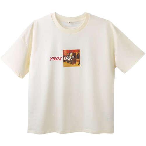 Футболка «YNDX 1997» Яндекс (размер S), молочный