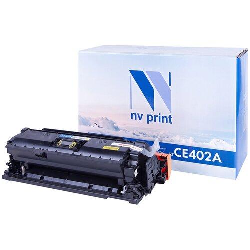 Фото - Картридж NV Print CE402A для HP, совместимый картридж nv print ce742a для hp совместимый