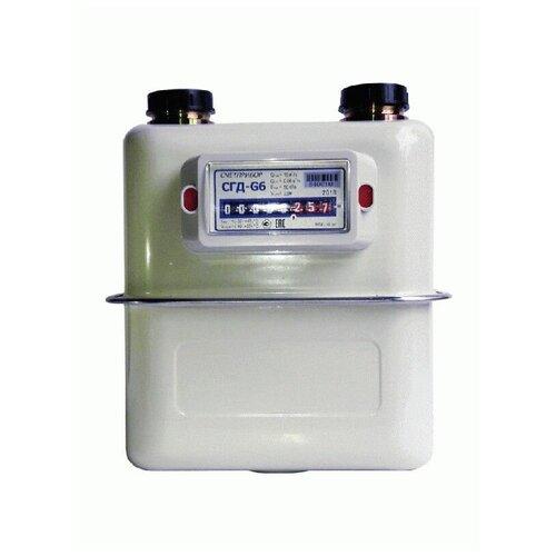 Счетчики газа СГД G6 130мм левый
