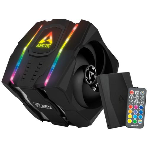 Кулер для процессора Arctic Freezer 50 TR серебристый/черный/RGB + контроллер недорого