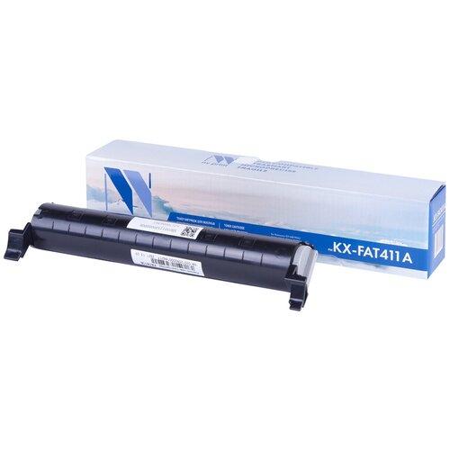 Фото - Картридж NV Print KX-FAT411A для Panasonic, совместимый картридж nv print kx fat411a kx fat411a kx fat411a kx fat411a для для panasonic kx fa t 411a 2000стр черный
