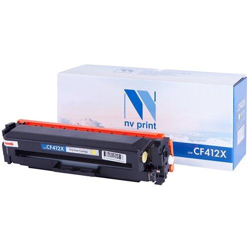 Фото - Картридж NV Print CF412X для HP, совместимый картридж nv print cf401x для hp совместимый
