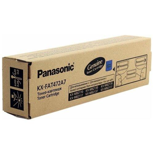 Фото - Картридж Panasonic KX-FAT472A7 картридж nv print kx fat472a7 для panasonic совместимый