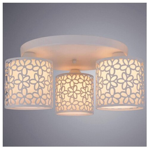 Люстра Arte Lamp Traforato A8349PL-3WH, E14, 120 Вт люстра arte lamp sansa a7585pl 3wh e27 120 вт