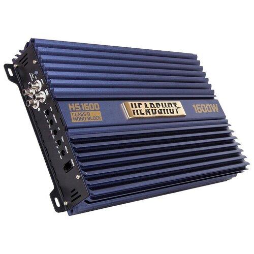 Автомобильный усилитель Kicx HeadShot HS1600 дистрибьютер питания kicx headshot db0444n никель