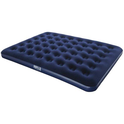 Надувной матрас Bestway Flocked Air Bed 67003 синий