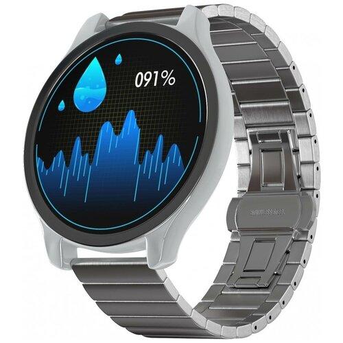 Умные часы GSMIN WP7 (stainless), серебристый