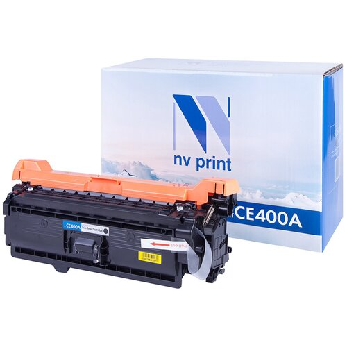 Фото - Картридж NV Print CE400A для HP, совместимый картридж nv print ce742a для hp совместимый