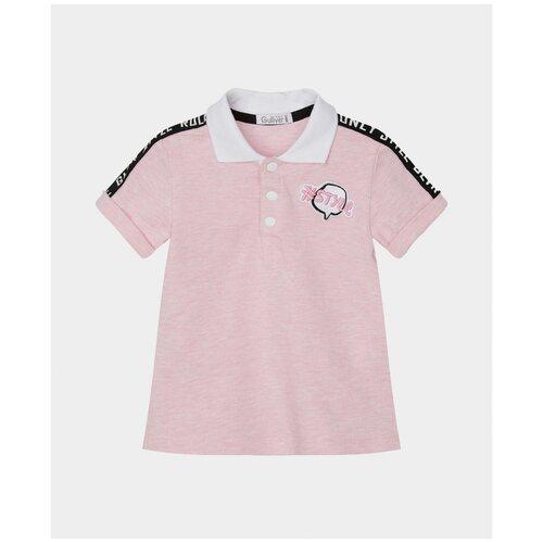 Купить Поло розовое Gulliver 12131GBC1401 размер 92, Gulliver Baby, Футболки и рубашки