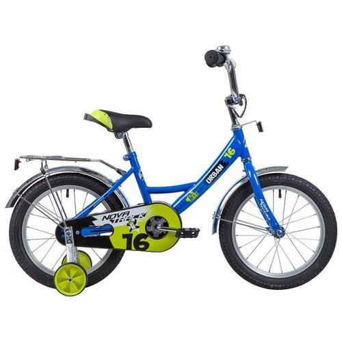 Фото - Детский велосипед Novatrack Urban 16 (2019) синий (требует финальной сборки) детский велосипед novatrack urban 16 2019 синий требует финальной сборки