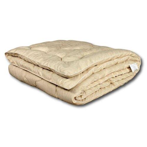 Фото - Одеяло АльВиТек Лён-Эко, всесезонное, 172 х 205 см (коричневый) одеяло альвитек модерато эко всесезонное 172 х 205 см сливочный