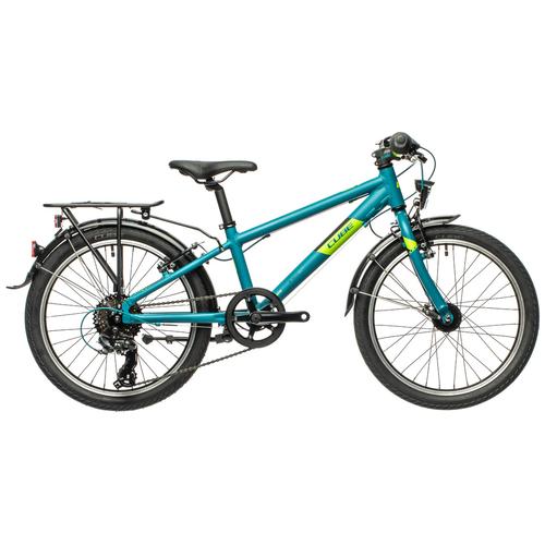 Фото - Детский велосипед Cube Kid 200 Street (2021) petrol/green (требует финальной сборки) велосипед cube elite c 68 race 29 2x 2016