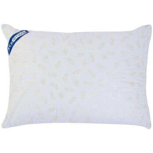 Подушка ТекСтиль Лебяжий пух 50 х 70 см белый