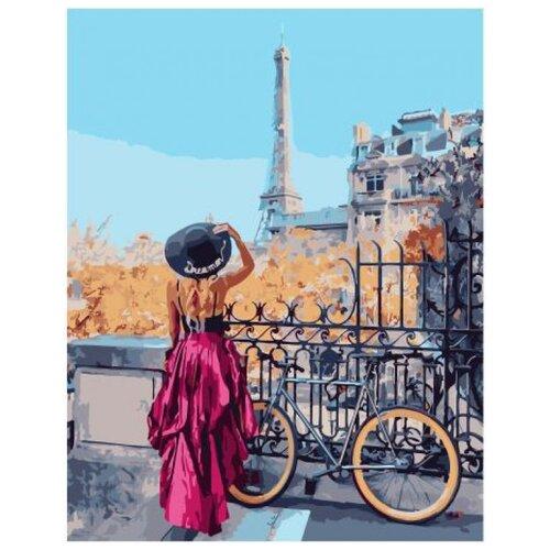 Велосипедный маршрут по Парижу