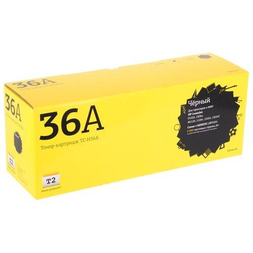 Фото - Картридж T2 TC-H36A, совместимый картридж t2 tc k895m совместимый