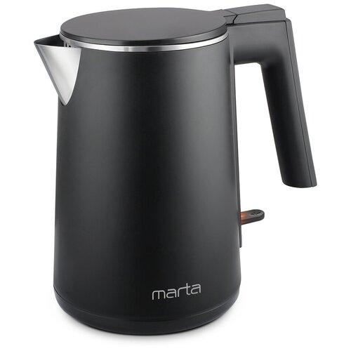 Чайник MARTA МТ-4591, черный жемчуг
