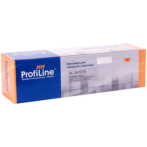 Картридж ProfiLine PL-TN-1075, совместимый картридж profiline pl tn 241bk bk совместимый