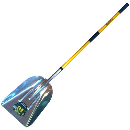 Лопата снегоуборочная ROUGHNECK, #10 с фибровой ручкой (48