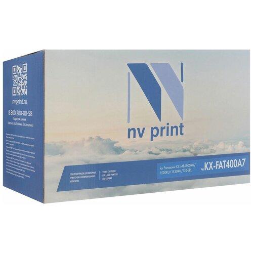 Фото - Картридж NV Print KX-FAT400A7 для Panasonic, совместимый картридж лазерный colortek ct kx fat400a7 400a для принтеров panasonic