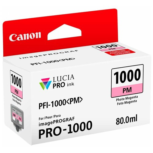 Фото - Картридж Canon PFI-1000PM (0551C001) картридж canon pfi 1000pgy 0553c001