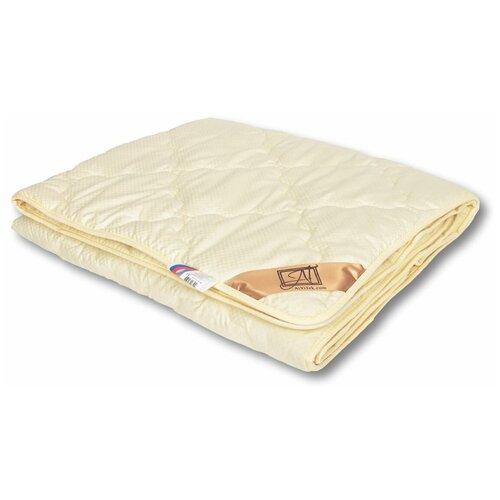 Фото - Одеяло АльВиТек Модерато-Лето, легкое, 140 х 205 см (сливочный) одеяло альвитек модерато эко всесезонное 172 х 205 см сливочный