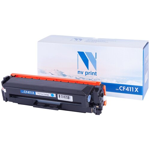Фото - Картридж NV Print CF411X для HP, совместимый картридж nv print cf401x для hp совместимый