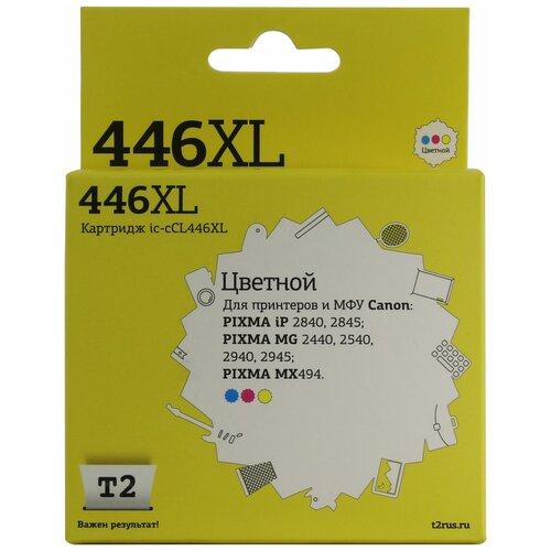 Фото - Картридж T2 IC-CCL446XL, совместимый картридж t2 ic h319 совместимый