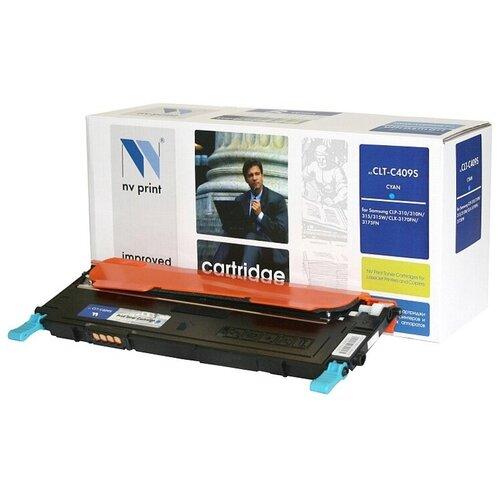 Картридж NV Print CLT-C409S для Samsung, совместимый картридж nv print clt m406s для samsung совместимый