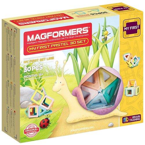 Конструктор Magformers My First 702013-30 Нежные цвета