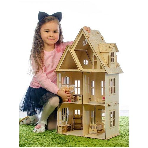 Кукольный домик Лайт, фанерный 3 мм