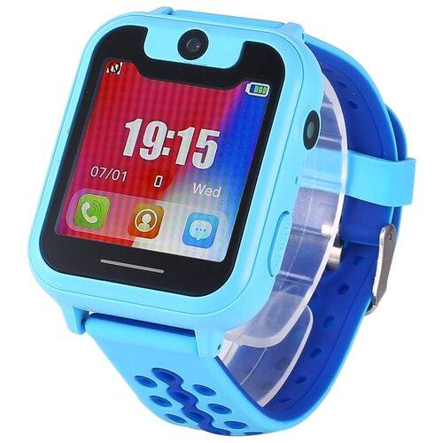 Детские умные часы Smart Baby Watch S6, голубой