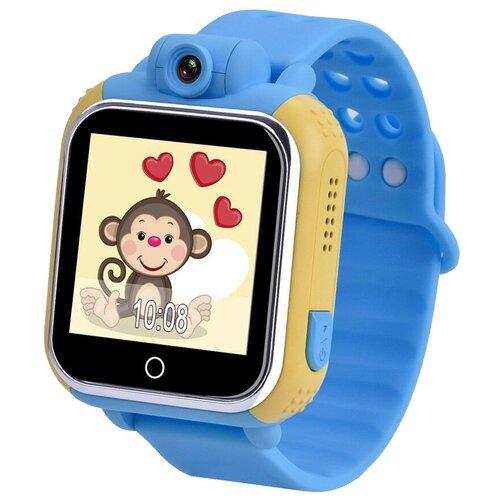 Детские умные часы Smart Baby Watch GW1000, голубой часы smart baby watch q80 голубой