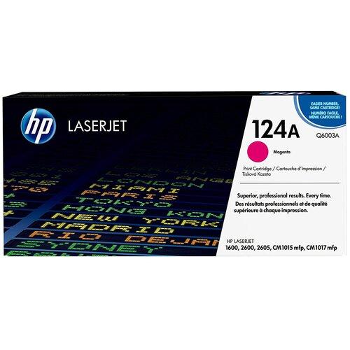 Фото - Картридж HP Q6003A картридж nv print q6003a q6003a q6003a q6003a q6003a для для color laserjet 1600 2600n m1015 m1017 2000стр пурпурный