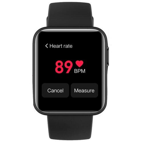 Фото - Умные часы Xiaomi Mi Watch Lite, черный умные часы xiaomi mi watch eac черный xmwtcl02