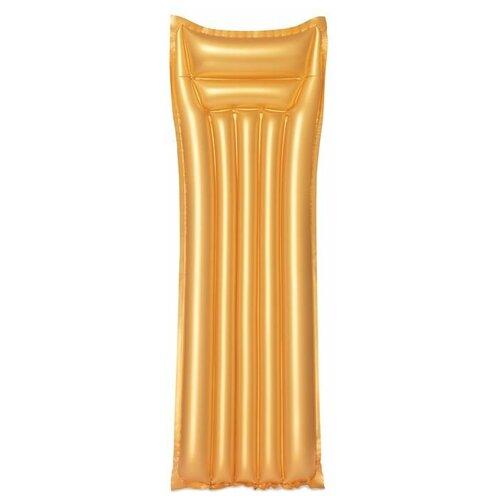 Матрас Bestway 44044 69x183 см золотистый