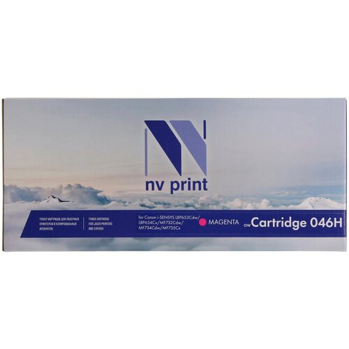 Фото - Картридж NV Print 046H Magenta для Canon, совместимый картридж nv print nv 054hm для canon совместимый