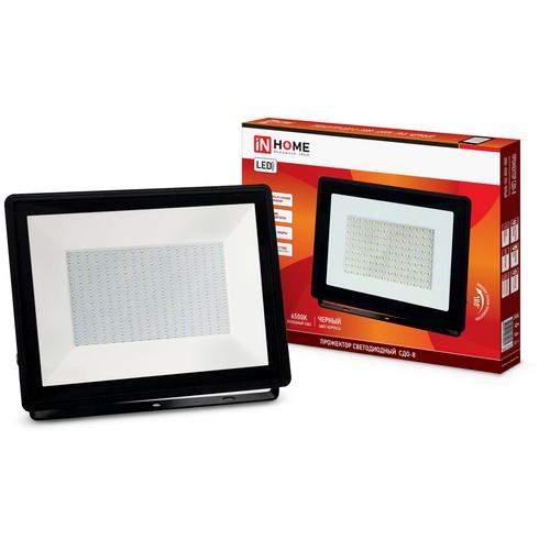 Прожектор светодиодный 200 Вт In Home СДО-8 (6500К 18000Лм IP65)