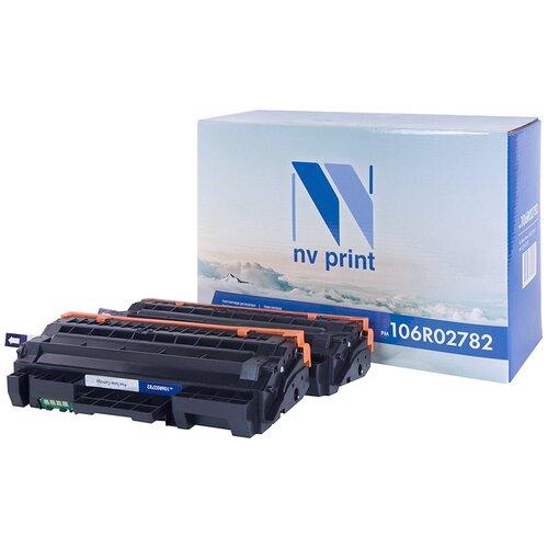 Фото - Набор картриджей NV Print 106R02782 для Xerox, совместимый набор картриджей xerox 108r00837