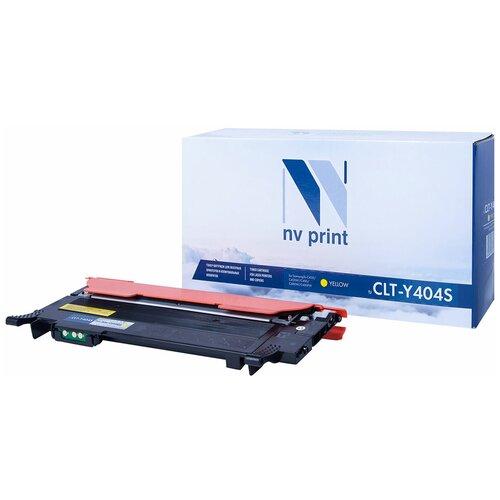 Картридж NV Print CLT-Y404S для Samsung, совместимый картридж nv print clt m406s для samsung совместимый