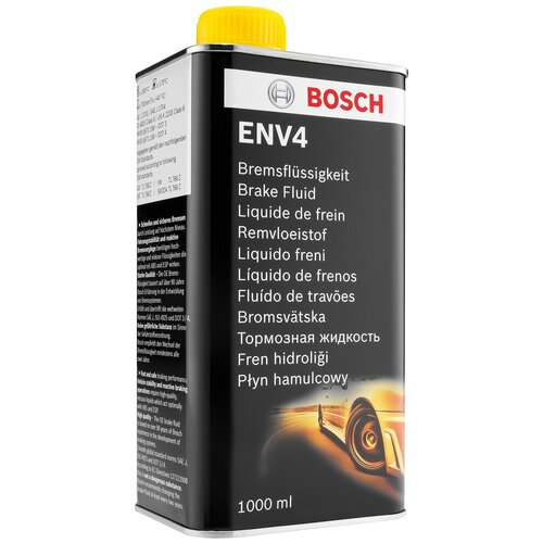 Тормозная жидкость Bosch Env4 1 л